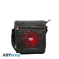 "GAME OF THRONES - Sac Besace ""Targaryen"" Petit Format"