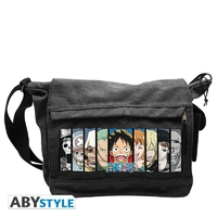 "ONE PIECE - Sac Besace ""Groupe"" Grand Format"