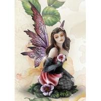 Figurine Fée Vévinia (H16 x L9cm)