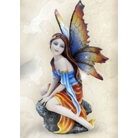 Figurine Fée Alanïs (H16 x L9cm)