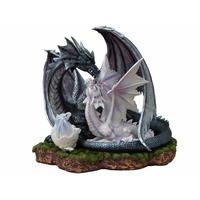 Statuette Dragons Dénoël et Dénoëla