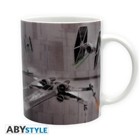 STAR WARS - Mug - 320 ml - X-Wing VS Tie Fighter