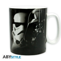STAR WARS - Mug - 460 ml - Vador/Troopers