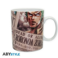 ONE PIECE - Mug - 460 ml - Zoro Wanted