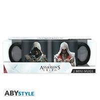 ASSASSIN'S CREED - Set 2 mini mugs - 110 ml - Ezio & Edward