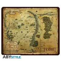 THE HOBBIT - Tapis de souris - Carte Terre du Milieu