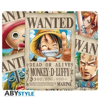 "ONE PIECE - Tapis de souris ""Wanted Pirates"""