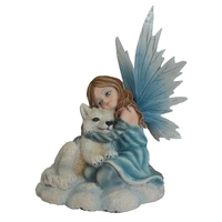 Figurine Fée Gwenn (H13 x L11cm)