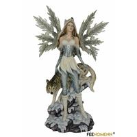 Statuette Fée Xiréna (H65 x L42cm)