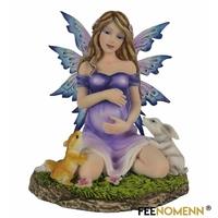 Figurine Fée Génanne (H15 x L14cm)