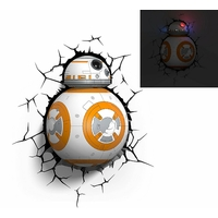 STAR WARS EP VII - Lampe décorative 3D BB-8