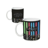 STAR WARS - Mug Thermoréactif - 320ml - Sabres Laser