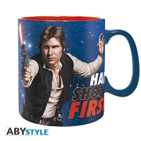 STAR WARS - Mug - 460 ml - Han Shot First