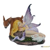 Figurine Fée Maélice (H13 x L11cm)