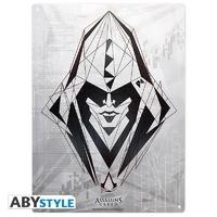 """ASSASSIN'S CREED - Plaque métal """"Assassin"""" (30x40cm)"""