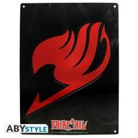 """FAIRY TAIL - Plaque métal """"Emblem"""" (30x40cm)"""