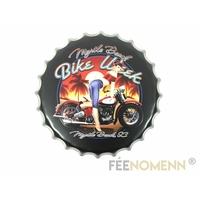 Capsule Métal Vintage - Bike Week (Diam. 40cm)