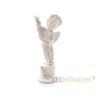 Statuette Ange Fleurs