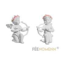 Figurines Anges Cupidons (LOT DE 2 PIÈCES)
