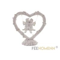 Statuette Anges Amoureux sur Balançoire