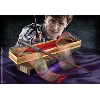 HARRY POTTER - Réplique Baguette HARRY POTTER (boîte Ollivander)