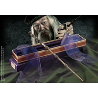 HARRY POTTER - Réplique Baguette ALBUS DUMBLEDORE (boîte Ollivander)