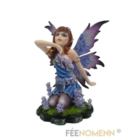 Figurine Fée Toriane (H11 x L10cm)