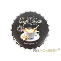 Capsule Métal Vintage - Caffé Latte / Café Gourmet (Diam. 40cm)