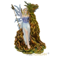 Statuette Fée Fadolma (H30 x L22cm)