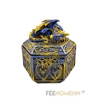 Boîte Dragon Multicolore (12x12cm)