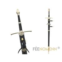 LE SEIGNEUR DES ANNEAUX - Réplique Épée ARAGORN 140cm (version fourreau + couteau)