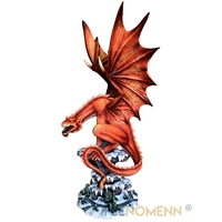 Statuette Dragon Nergal (H48 x L26cm)