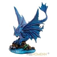 Statuette Dragon Kalan (H38 x L28cm)