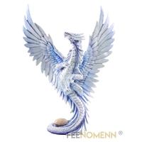 Statuette Dragon Lasérian (H32 x L22cm)