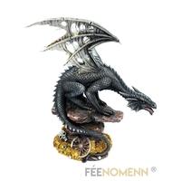 Statuette Dragon Vorgoll (H24 x L21cm)