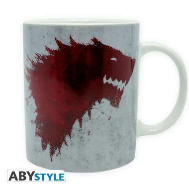 game of thrones mug 320 ml the north remembers. Black Bedroom Furniture Sets. Home Design Ideas