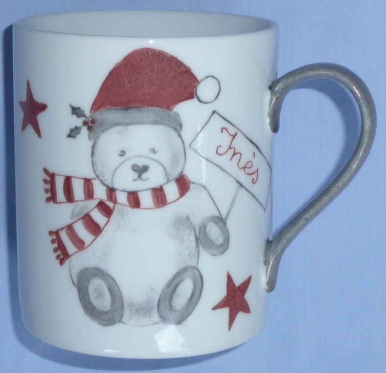 Mug enfant Ourson rouge
