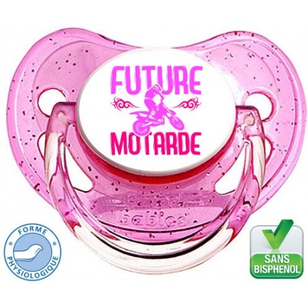 Tétine rose Future Motarde