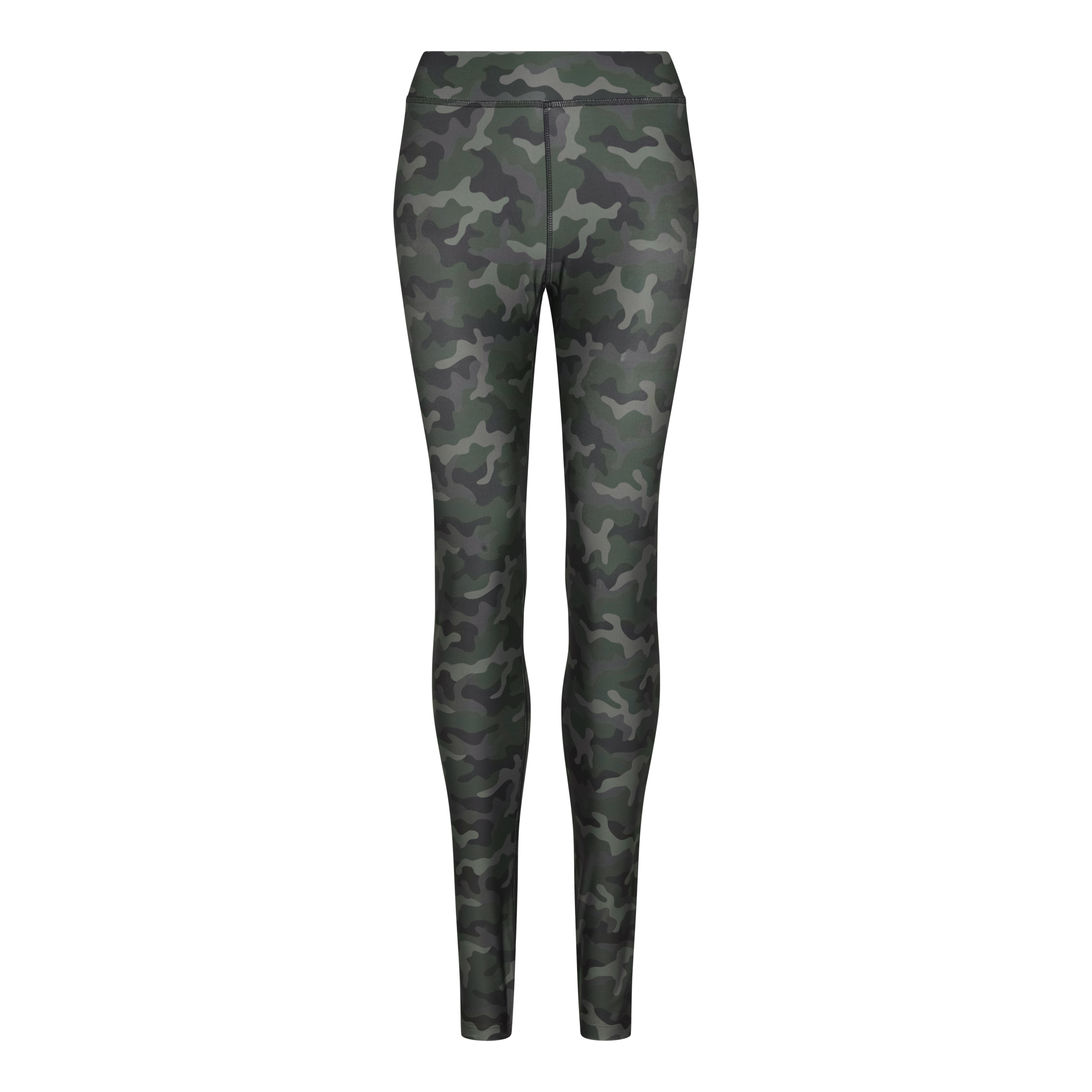 Legging de sport femme Fashion Green Camo