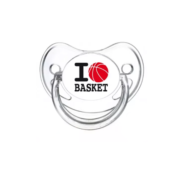 Tétine I love Basket