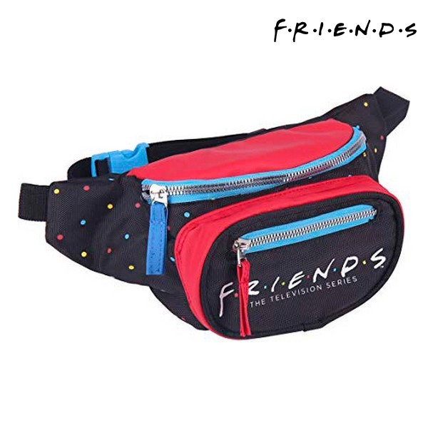 Sac banane Friends Noir