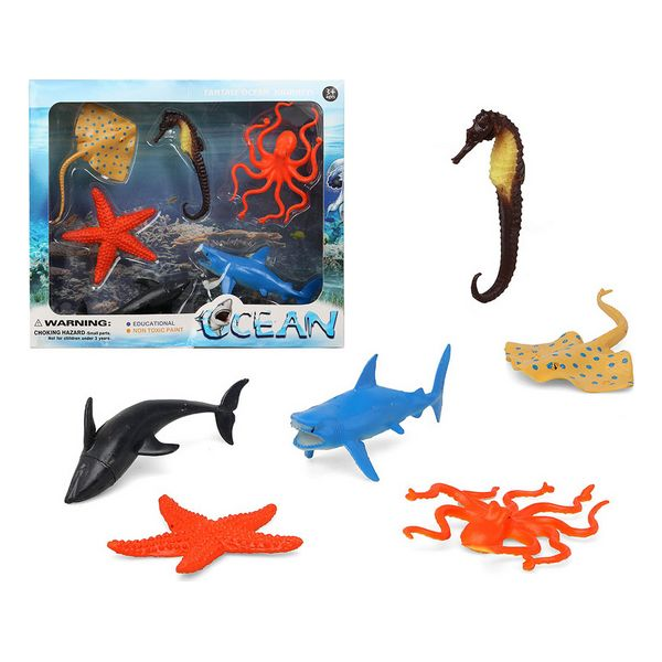 Set 6 Animaux Sauvages Ocean 110364