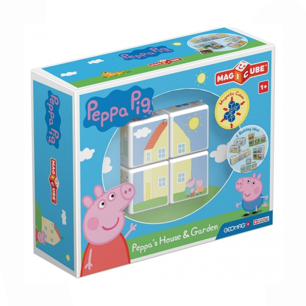 Blocs Empilables MAGICUBE PEPPA PIG