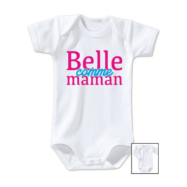 Body message Belle comme maman