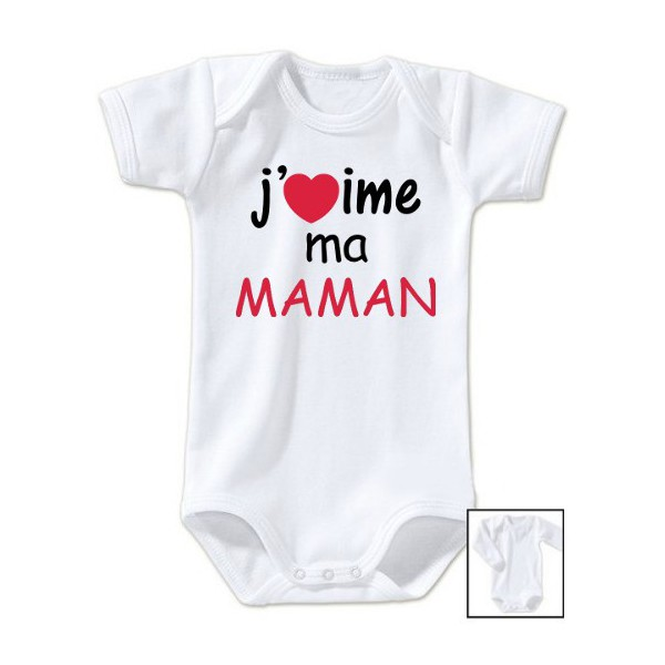 Body message j\'aime ma maman