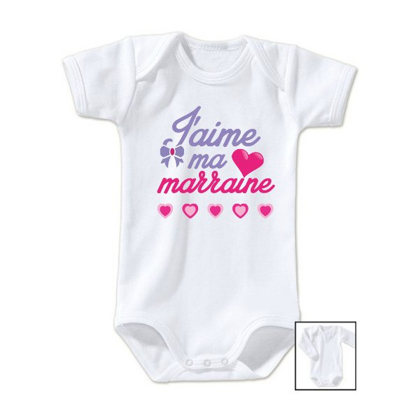 Body message j\'aime ma marraine