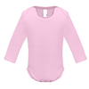 body bebe rose clair manches longues