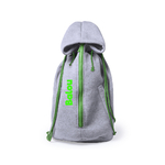 sac a dos transport chien vert personnalise