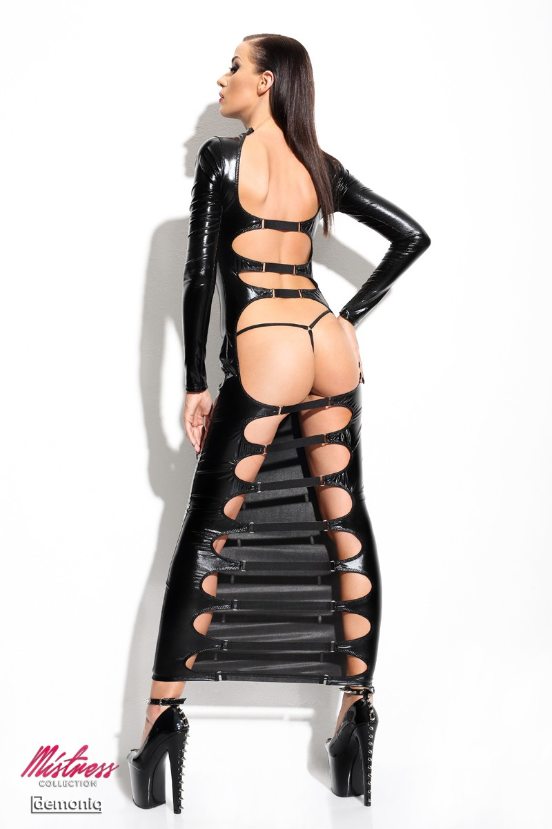 Robe clubwear ultra sexy Dorothea Mistress collection Demoniq
