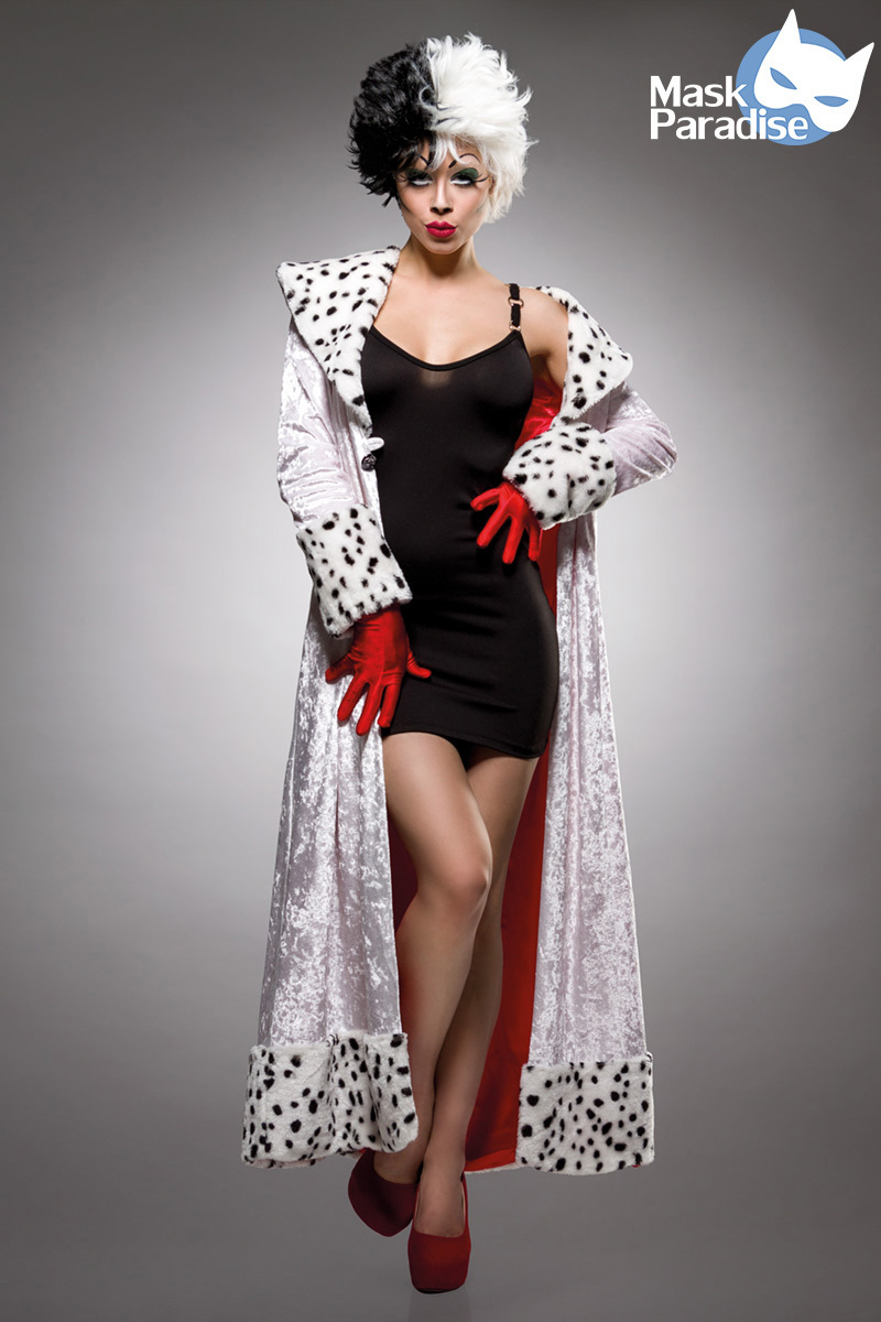 Costume Cruella d\'enfer - Mask Paradise